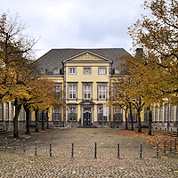 Hof der Abtei Kornelimünster