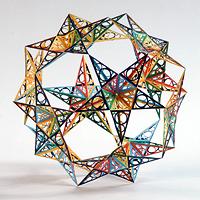 Polyart Polyeder von Ulrich Mikloweit